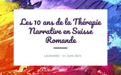 Les 10 ans de la Thérapie Narrative en Suisse Romande – Annulé