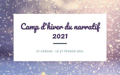 Camp d'hiver du narratif 2021 – Annulé
