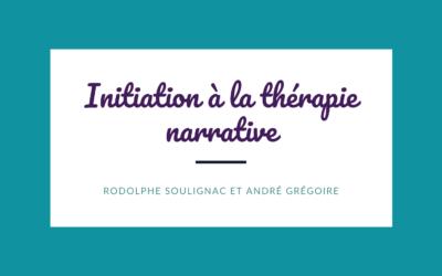 Initiation à la thérapie narrative 2021-2022